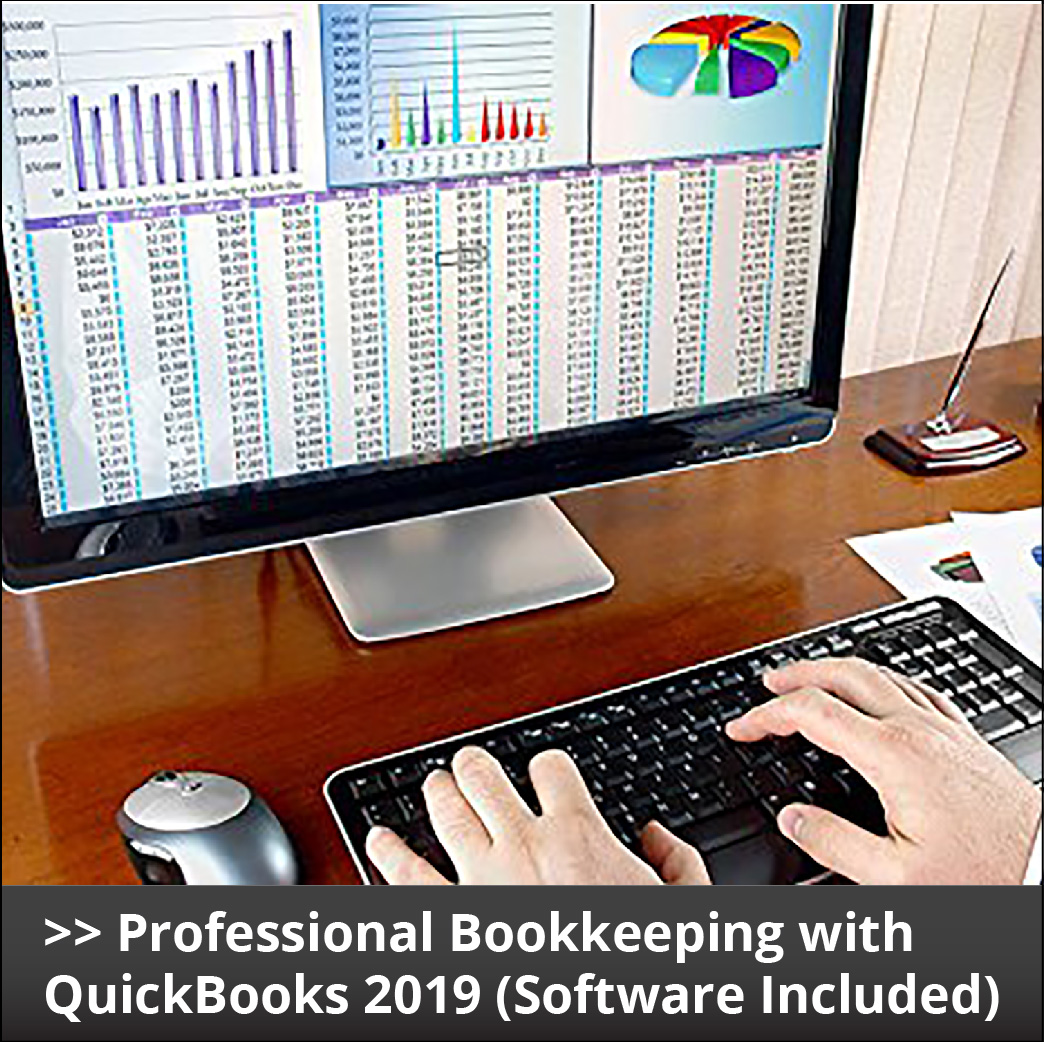 Professional Bookkeeping with QuickBooks 2019 Course